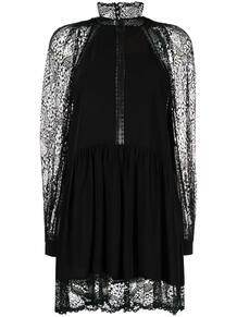 кружевное платье с высоким воротником IRO 170683435154