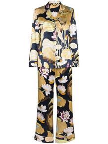 пижама Lila Hasani с цветочным принтом Olivia Von Halle 1670479083