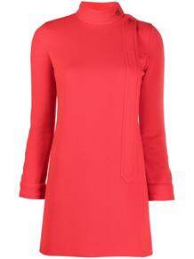платье-трапеция с пуговицами Yves Saint Laurent 163453995154