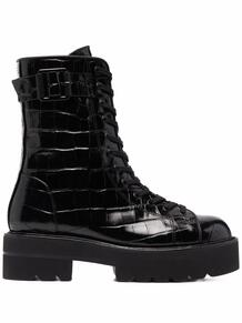 ботинки Ryder Ultralift с тиснением под кожу крокодила Stuart Weitzman 1693019351534453