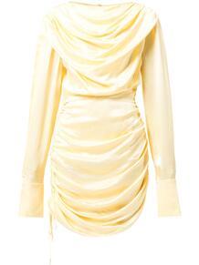 атласное платье с драпировкой Materiel 162638478883