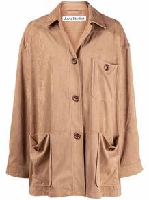 button-fastening long-sleeve jacket ACNE STUDIOS 167320185152