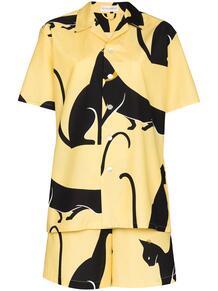 пижама с принтом Olivia Von Halle 167054298883