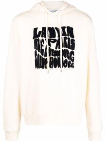logo-lettering hoodie Lanvin 1704986283