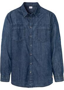 Рубашка джинсовая bonprix 267650989