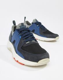Разноцветные замшевые кроссовки Camper Drift - Мульти 1360790