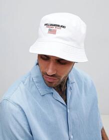 Белая панама с вышивкой ASOS DESIGN - Белый 1257946