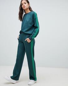 Спортивные штаны с полосками по бокам Only - Зеленый 1330956