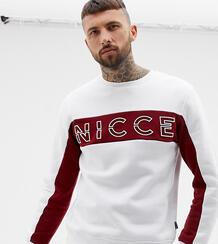 Свитшот с логотипом на груди Nicce эксклюзивно для ASOS - Белый Nicce London 1313923