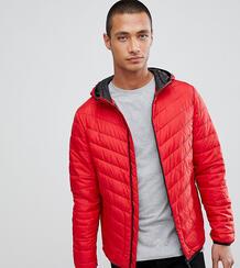 Красная дутая куртка с капюшоном Tom Tailor - Красный 1307968