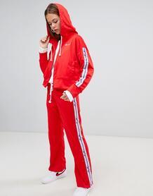 Комбинируемые спортивные брюки с логотипом Champion - Красный 1300345