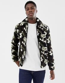 Флисовая куртка на молнии Another Influence - Зеленый 1281501