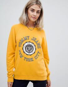 Свитшот с логотипом Tommy Jeans - Желтый 1336392