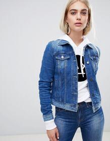 Джинсовая куртка Armani Exchange - Синий 1337219