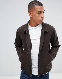 Вельветовая куртка на молнии Another Influence - Коричневый 1281502