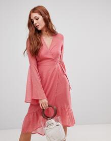 Платье с рукавами клеш Vero Moda - Черный 1345089