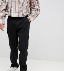 Черные брюки широкого кроя ADD - Черный 1309050