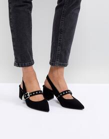 Черные туфли на каблуке RAID - Черный 1240869