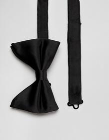 Черный галстук-бабочка Moss London - Черный MOSS BROS 1322678
