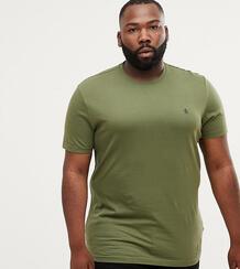 Зеленая футболка с круглым вырезом и логотипом Original Penguin Big & 1329488