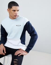 Свитшот в стиле ретро Nicce - Темно-синий Nicce London 1183038