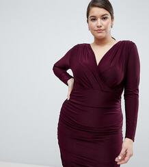 Платье с запахом AX Paris Plus - Красный 1298130