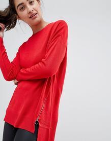 Джемпер с высоким воротом New Look - Красный 1306239