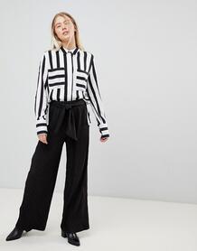 Широкие брюки Moves By Minimum - Черный 1293358