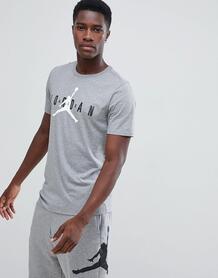 Серая футболка с логотипом Nike Jordan Air AA1907-091 - Серый 1252785