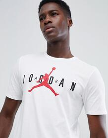 Белая футболка с логотипом Nike Jordan Air AA1907-100 - Белый 1252787
