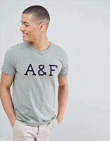 Зеленая футболка с логотипом Abercrombie & Fitch Legacy - Зеленый Abercrombie& Fitch 1298211