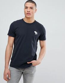 Черная футболка с круглым вырезом Abercrombie & Fitch - Черный Abercrombie& Fitch 1298202