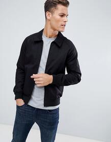 Черная куртка Харрингтон ASOS DESIGN - Черный 1295687