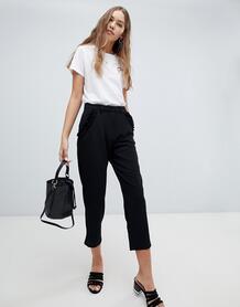 Строгие брюки с оборками на карманах Brave Soul Lexie - Мульти 1284060