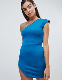 Платье на одно плечо Missguided - Зеленый 1286064