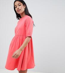 Свободное хлопковое платье мини ASOS MATERNITY Ultimate - Черный 1327735