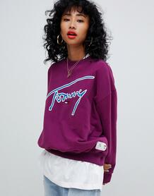 Свитшот Tommy Jeans - Фиолетовый 1303871