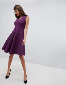Платье с плиссированной юбкой Closet London - Розовый 1293624