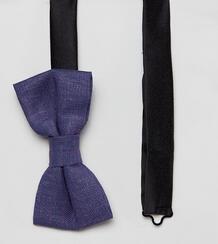 Льняной галстук-бабочка Heart & Dagger - Синий 1216629