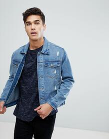 Джинсовая куртка D-Struct - Светло-бежевый 1200563