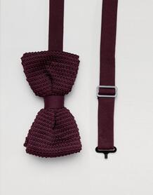 Бордовый галстук-бабочка Religion wedding - Красный 1311192