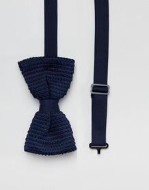 Темно-синий галстук-бабочка Religion wedding - Синий 1311193