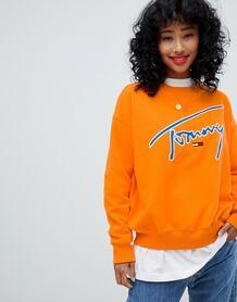 Свитшот Tommy Jeans - Оранжевый 1303867