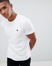 Белая футболка с круглым вырезом Abercrombie & Fitch - Белый Abercrombie& Fitch 1298186
