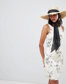 Облегающее платье с цветочным принтом Lavand - Мульти 1237016