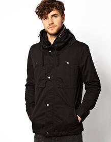 Куртка со свободным воротом River Island - Черный 409361