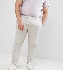 Серые брюки Twisted Tailor Wedding - Светло-бежевый 1236412