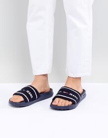 Шлепанцы для бассейна с логотипом Tommy Jeans - Темно-синий 1290374