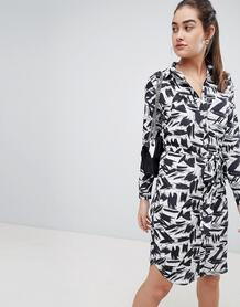 Платье-рубашка миди с принтом Sugarhill Boutique tyler - Мульти 1283904