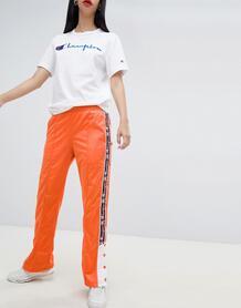 Спортивные штаны с логотипом и кнопками Champion - Оранжевый 1317560